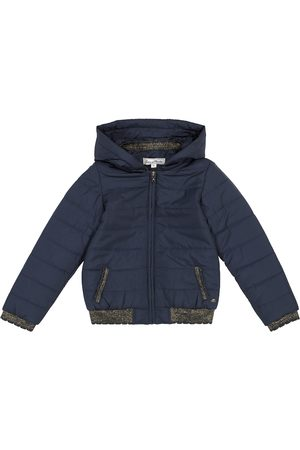 Tartine Et Chocolat Dziewczynka Kurtki - Hooded quilted jacket