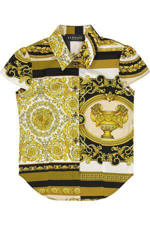 VERSACE Barocco Mosaic cotton shirt