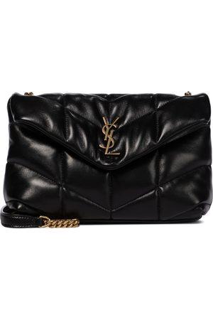 Saint Laurent Loulou Toy Puffer leather shoulder bag