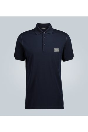 Dolce & Gabbana Plaque polo shirt