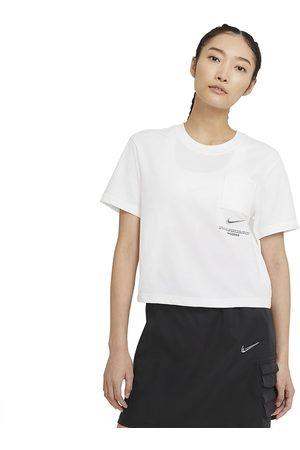 Topy - Nike W NSW Swoosh Top (CZ8911-100)