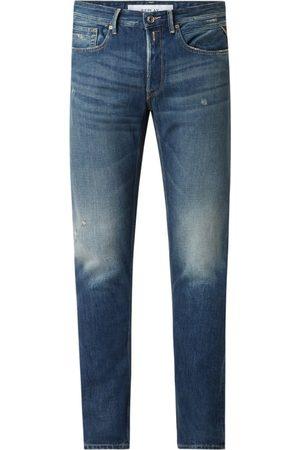 Replay Jeansy z prostą nogawką z bawełny ekologicznej model 'Willbi'