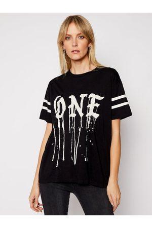 ONE TEASPOON T-Shirt Sports Stripe Tee 23899 Boyfriend Fit