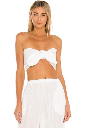 Just BEE Queen Lola Bandeau in - Ivory. Size L (also in M, S, XS).