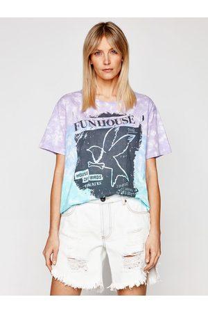ONE TEASPOON T-Shirt Fun House Boyfriend Tee 23903 Boyfriend Fit