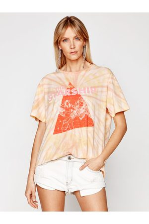 ONE TEASPOON T-Shirt Starship Sunset Tie Dye Tee 23917 Boyfriend Fit