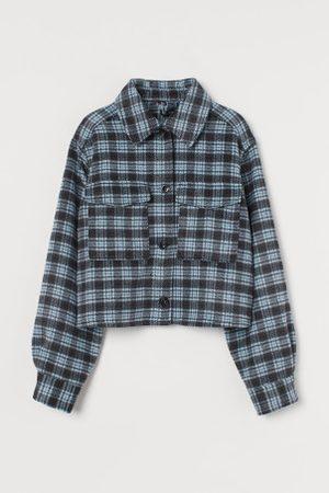 H&M Krótka kurtka koszulowa