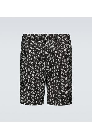 Givenchy Mężczyzna Szorty - Logo swim shorts