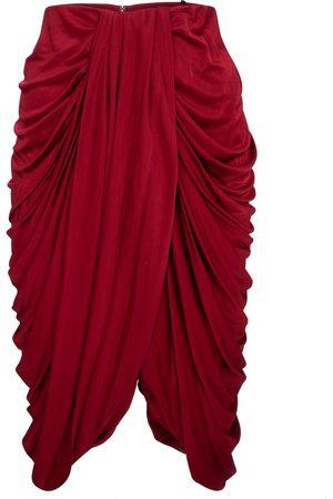 Isabel Marant Kobieta Spódnice midi - Dotina silk-blend jersey midi skirt
