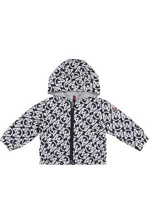 Moncler Enfant Baby Barsabas logo-print jacket