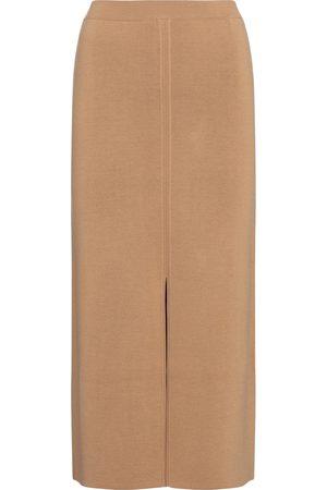 Gabriela Hearst Hodgins wool, cashmere and silk midi skirt