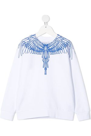 MARCELO BURLON Chłopiec Bluzy - White