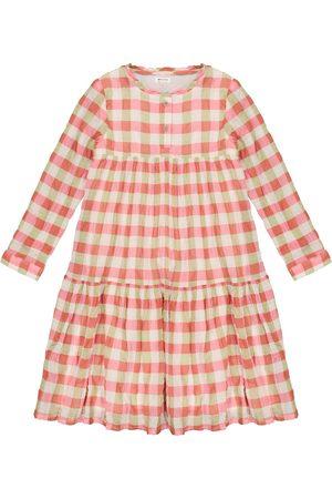 MORLEY Hippie gingham cotton dress