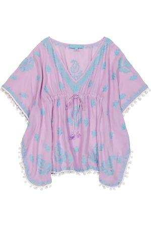 Melissa Odabash Dziewczynka Kombinezony - Baby Sharize embroidered kaftan