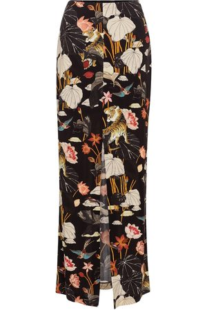 Etro Printed maxi skirt