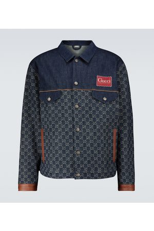 Gucci Eco-washed organic GG denim jacket