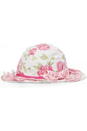 MONNALISA Floral sun hat