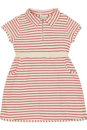 MORLEY Jodie striped cotton-blend dress