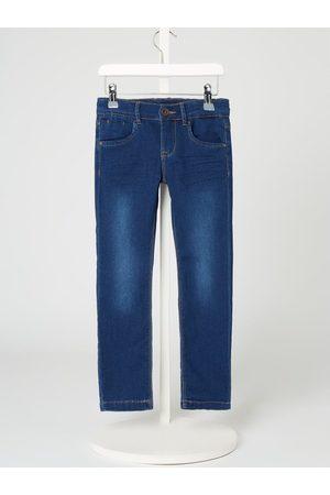Name it Jeansy o kroju slim fit z dzianiny dresowej stylizowanej na denim model 'Sally' – ze zrównoważonej produkcji