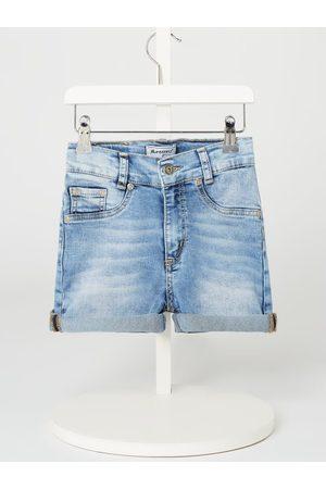 Blue Effect Szorty jeansowe z wysokim stanem o kroju slim fit z dodatkiem streczu