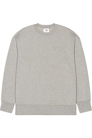 Y-3 Classic Chest Logo Crew Sweatshirt in - Gray. Size L (also in M, S).