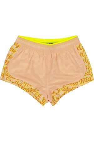 Stella McCartney Logo sports shorts