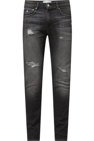 Calvin Klein Jeansy o kroju Skinny Fit z dodatkiem streczu