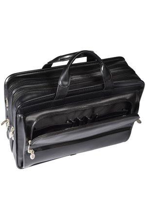 "Mcklein Skórzana torba męska na laptopa 17"" Elston 86485"