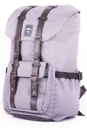 Solier Wodoodporny plecak męski SV01 szary - Szary
