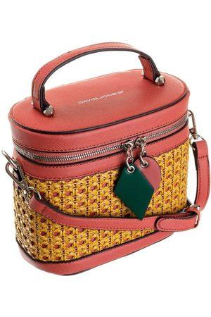 David Jones Torebka damska kuferek czerwona 6246-1