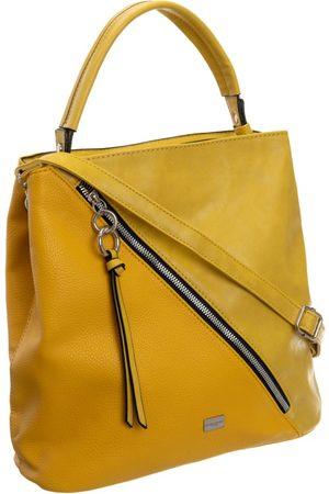 David Jones Torebka damska żółta cm5673 - żółty