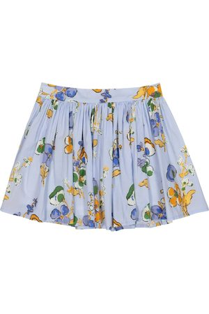 MORLEY Ferrari floral cotton skirt