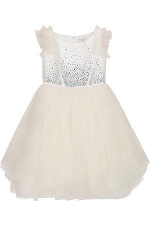 MONNALISA Dziewczynka Sukienki koktajlowe i wieczorowe - Embellished tulle dress