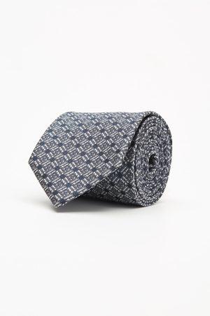 Recman Krawat makrowzór grafit 102