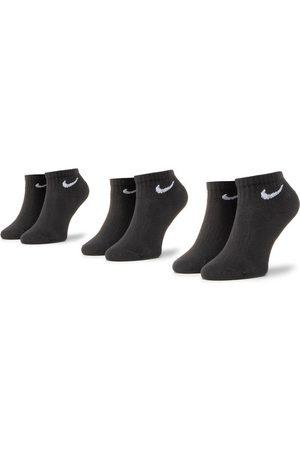 Nike Zestaw 3 par niskich skarpet unisex SX7667-010