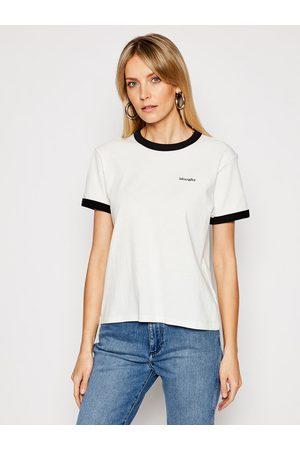 Wrangler T-Shirt Ringer W7S0DRXV6 Relaxed Fit