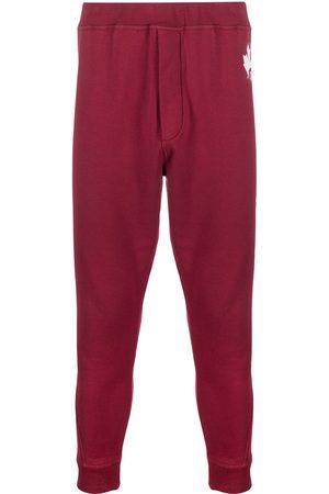 Dsquared2 Mężczyzna Spodnie dresowe - Logo-print tapered track pants