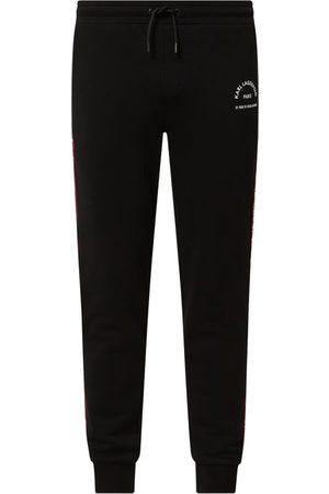 Karl Lagerfeld Spodnie dresowe z mieszanki bawełny