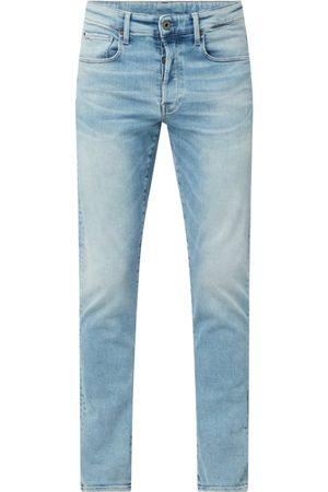 G-Star Jeansy o kroju straight tapered fit z bawełny ekologicznej model '3301'