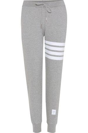 Thom Browne Kobieta Spodnie - Cotton track pants