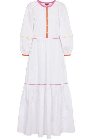 Staud Demi stretch-cotton maxi dress