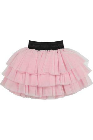 Balmain Tulle skirt