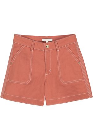 Chloé Stretch-cotton shorts