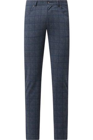 Bugatti Mężczyzna Spodnie - Spodnie o kroju regular fit z dodatkiem wiskozy model 'Toronto'