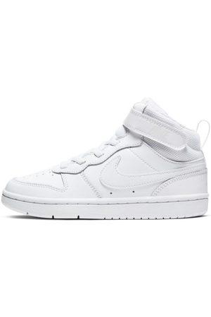 Nike Buty dla małych dzieci Court Borough Mid 2 - Biel