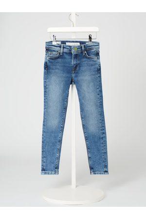 Pepe Jeans Dziewczynka Skinny - Jeansy o kroju Skinny Fit z dodatkiem streczu