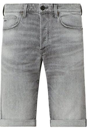 G-Star Szorty jeansowe o kroju straight fit z dodatkiem streczu