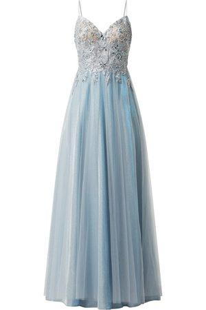 Luxuar Sukienka wieczorowa z ornamentalnymi haftami