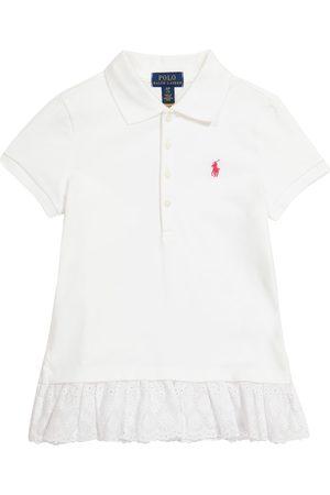 Ralph Lauren Dziewczynka Koszulki polo - Logo stretch-cotton piqué polo shirt