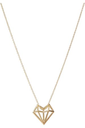 Aliita Exclusive to Mytheresa – Corazon 9kt yellow gold necklace